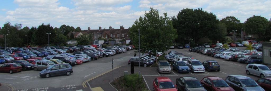 Norwich community hospital car park, NCH&C
